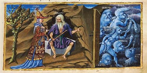 003-Bucolicon-Georgicon-Aeneis-1450-1460- Biblioteca Riccardiana de Florencia