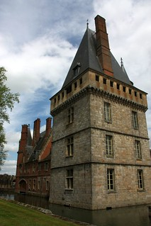 Castle of Maintenon (Eure-et-Loire) - The square tower