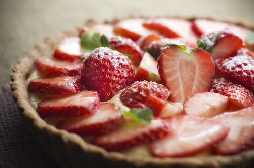 Strawberry Tart - 無料写真検索fotoq