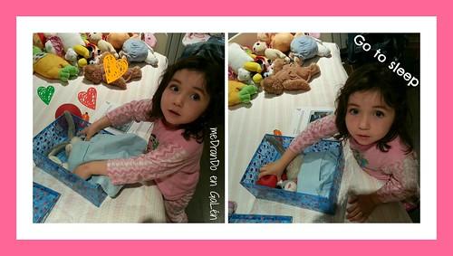 Cayetana & Robby bedtime