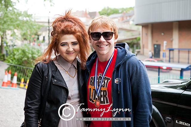 Rupert Grint with sister Samantha | Flickr - Photo Sharing! Rupert Grint