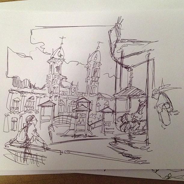 Donosti sketch 01