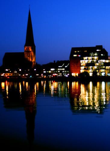 Sonnenuntergang in Rostock 03