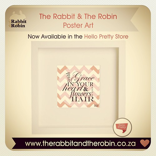 My @helloprettysa Store now Open! Typography is a popular trend in interior design these days, the beauty of typographic décor will brighten up your home or office with one of your  favourite lyrics or quotes.   http://hellopretty.co.za/rabbit-and-robin C