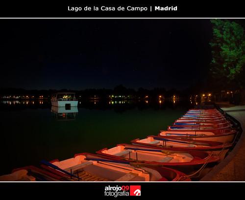 Lago Casa de Campo   Madrid by alrojo09