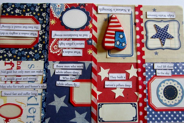 Red, White, & Blue Tiny Book 3