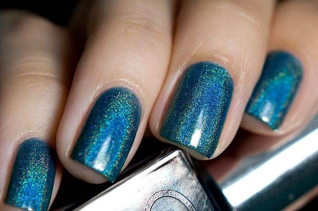 Glitter Gal Teal Blue