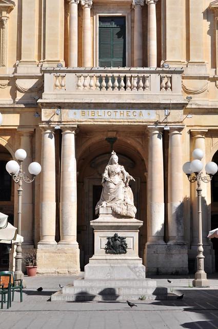 Qué ver en La Valeta: Biblioteca pública de La Valeta en Malta