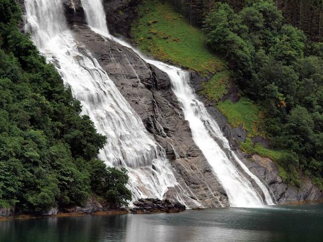 Geiranger Fiord Waterfall