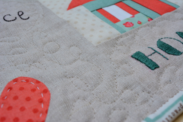 Home Mini Quilt