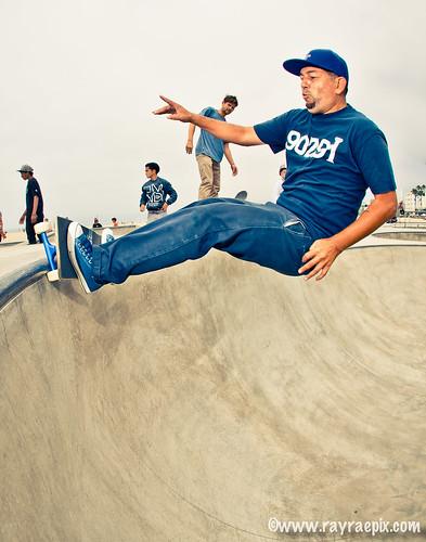 Joe Contreras 8-4-13 at the Venice Skatepark