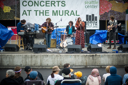 Photos concerts at the mural with jd mcpherson rose for Concerts at the mural seattle