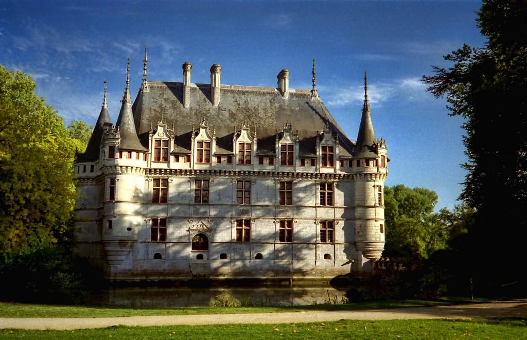 Castillo de Azay-le-Rideau. Autor, Dan Lundberg