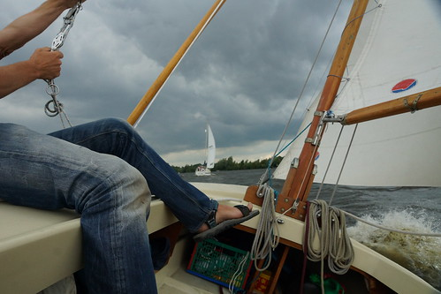 Sailing on the Loosdrechtse Plassen by CharlesFred