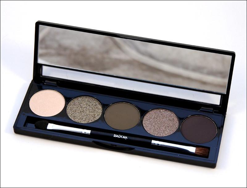 IsaDora highlands eye shadow palette1