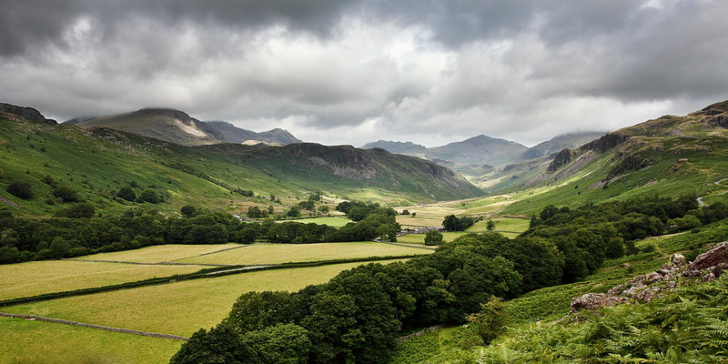 Landscape photo of the beautiful Lake District.