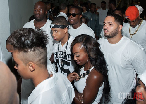 Ludacris all white Labor Day party at compound