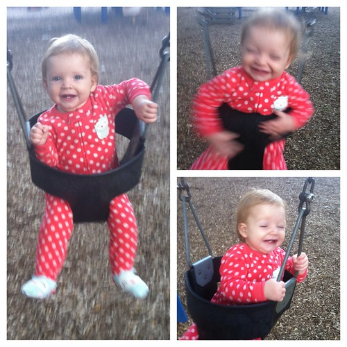 Swinging! Almost 10 months.
