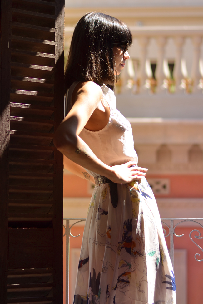 Chicwish skirt Barcelona outfit 8