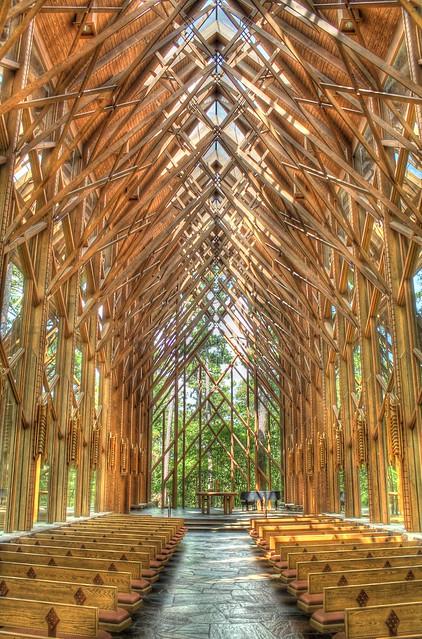 Garvan Woodland Gardens Anthony Chapel Hot Springs Arkansas Flickr Photo Sharing