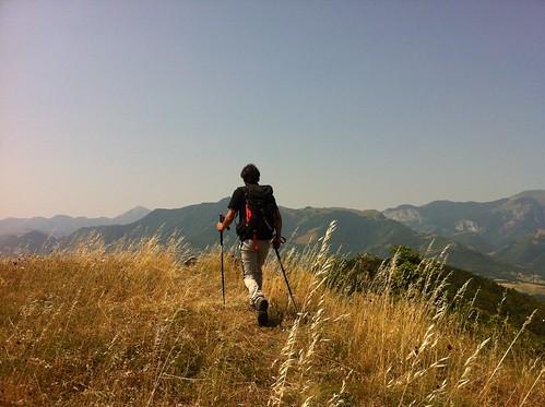 trekking sul monte rotondo