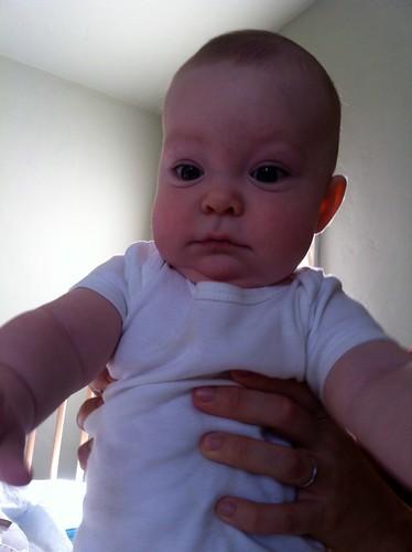 julian at four months