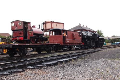 43106 reversing freight - Severn Valley Railway 2013