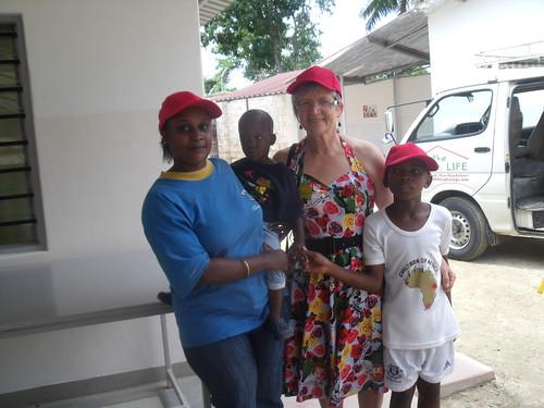 Madam Paula, Roslyn, Alan & Hamisi