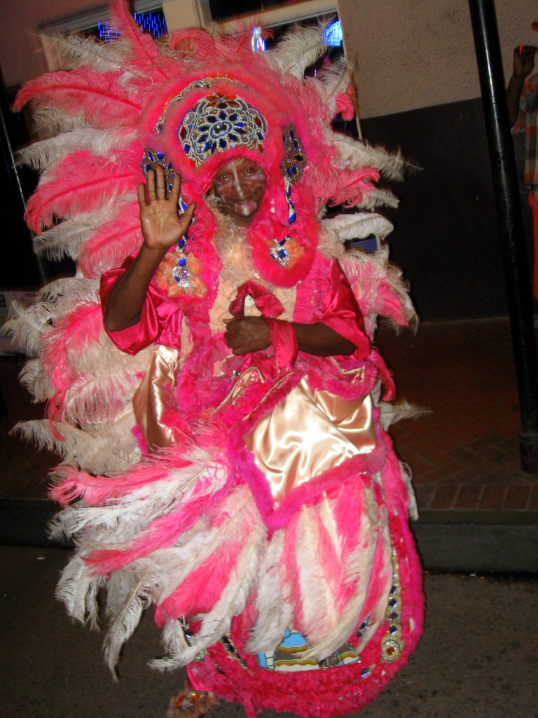 Wild Indians Down in New Orleans