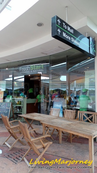 Fresh Start Organic Store in Central City Mall Negros