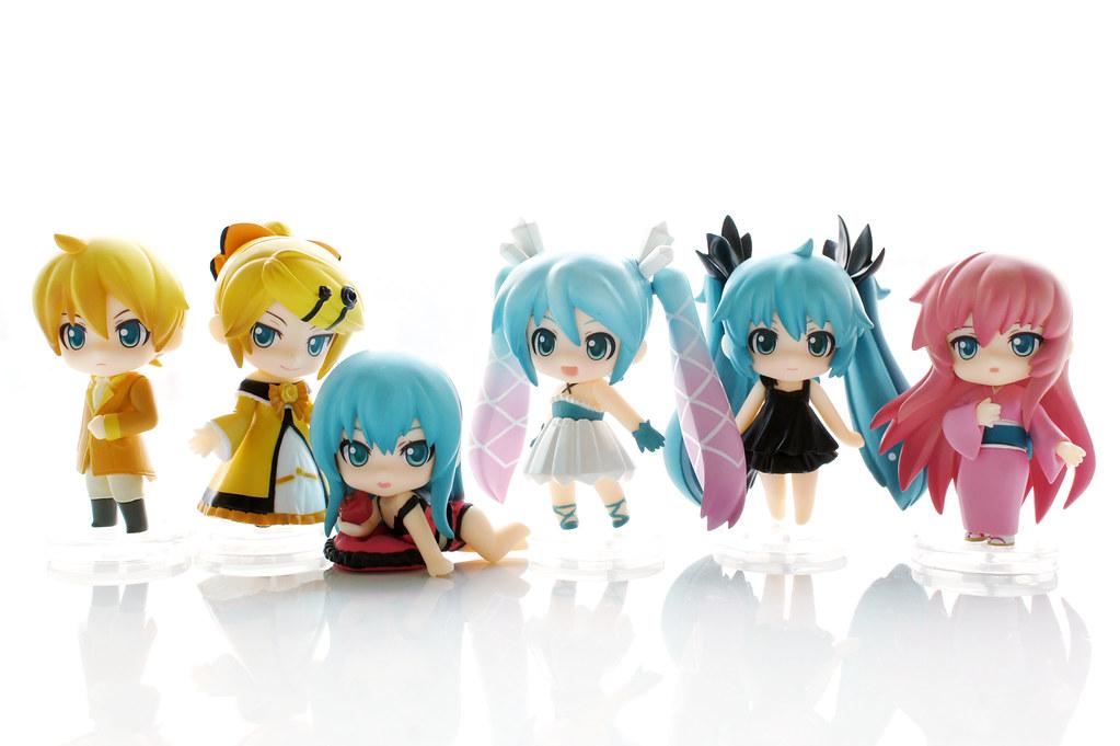 Petit Nendoroid Miku Selection Hatsune Miku Mikurisutaru Vocaloid
