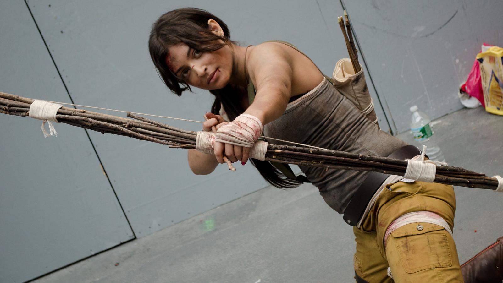 NYCC Tomb Raider Cosplay