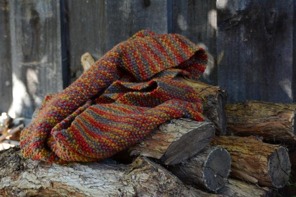 Seed Stitch Cowl