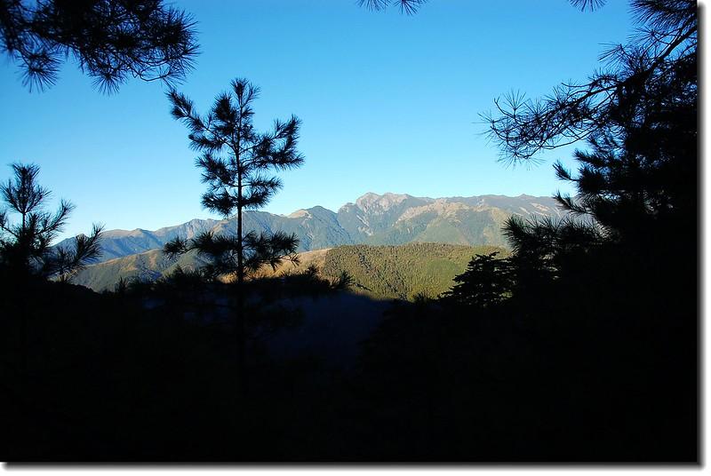 雪山山脈(From 710林道) 1