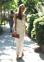 summer maxi dress american apparel