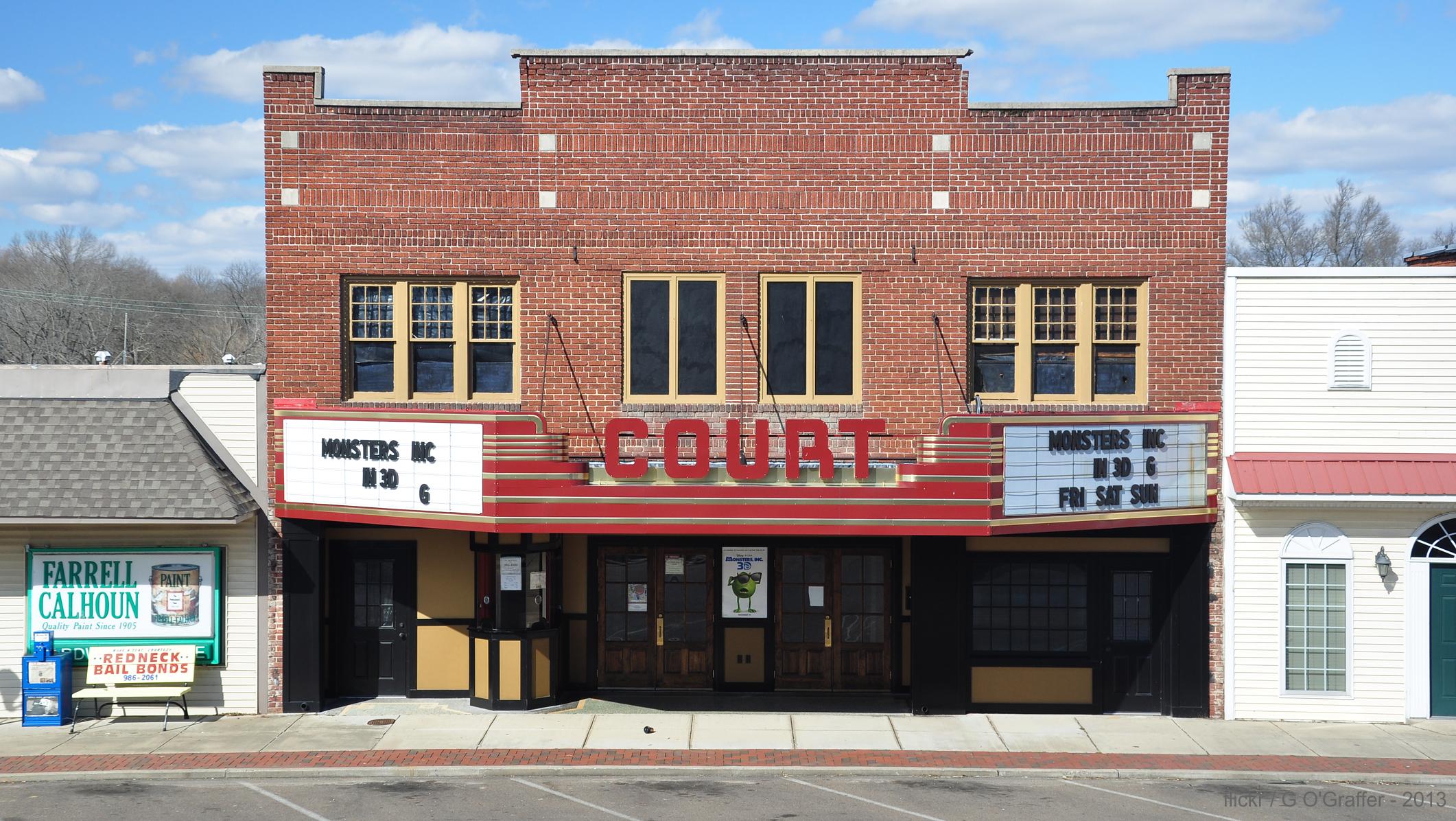 Tennessee carroll county clarksburg - Tennessee Huntingdon Movietheaters Carrollcounty Oldmovietheaters Courttheatre