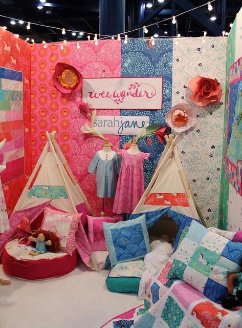 Sarah Jane's booth