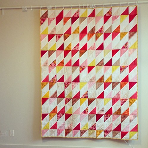 teen living charity quilt -- twin size