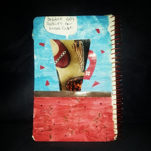 If My Mug Could Talk prompt #artjournal by quilter4010