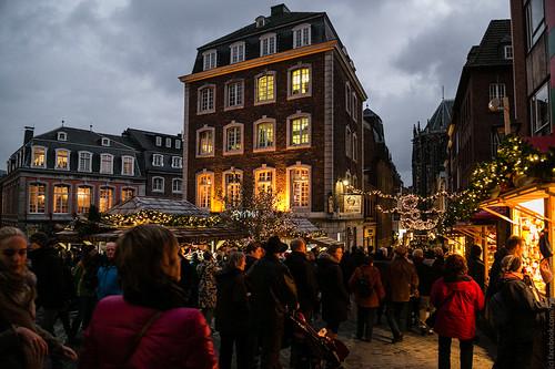 Aachener Weihnachtsmarkt by Max Mayorov