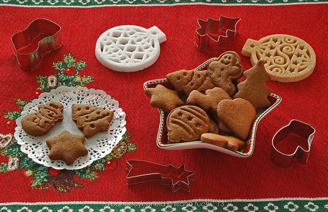 Gingerbread rye cookies by Akane86, on Flickr