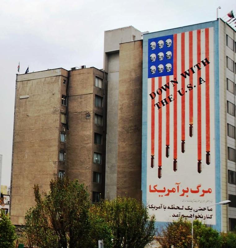 196  murales en Teheran