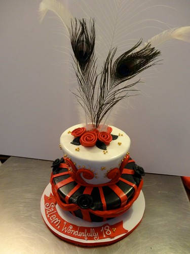 Moulin Rouge Cake by CAKE Amsterdam - Cakes by ZOBOT