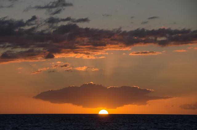 Sunset from Kihei, Maui