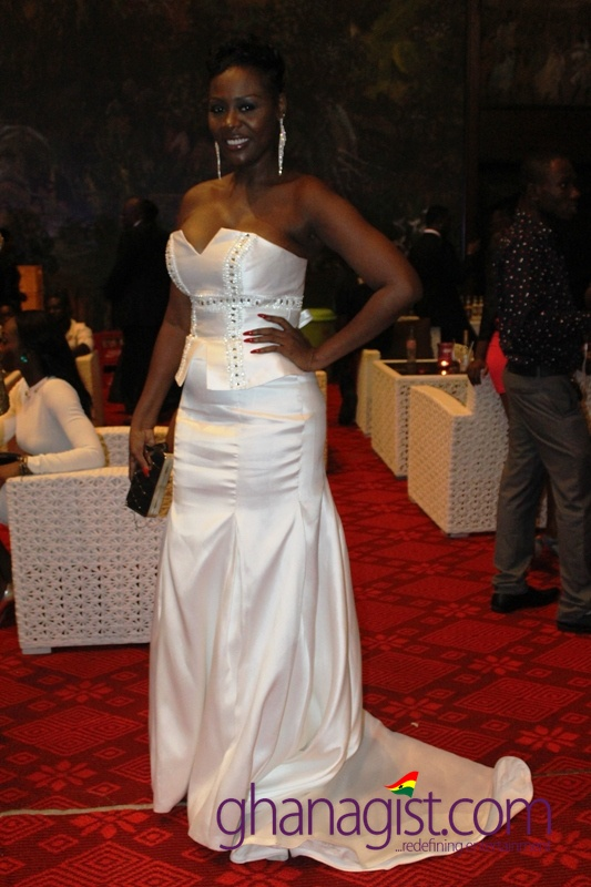 Confidence Haugen at Ghana Movie Awards 2013