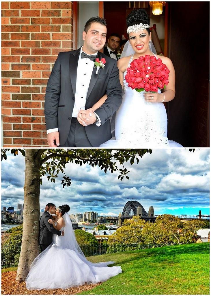 Bridal Styles bride Vanessa wearing her Swarovski crystal statement crown