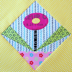 "Needle turn applique plus fpp. Finishes at 7.75""."