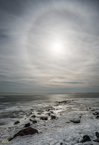 winter sun ice unitedstates maryland halo havredegrace 1402016139
