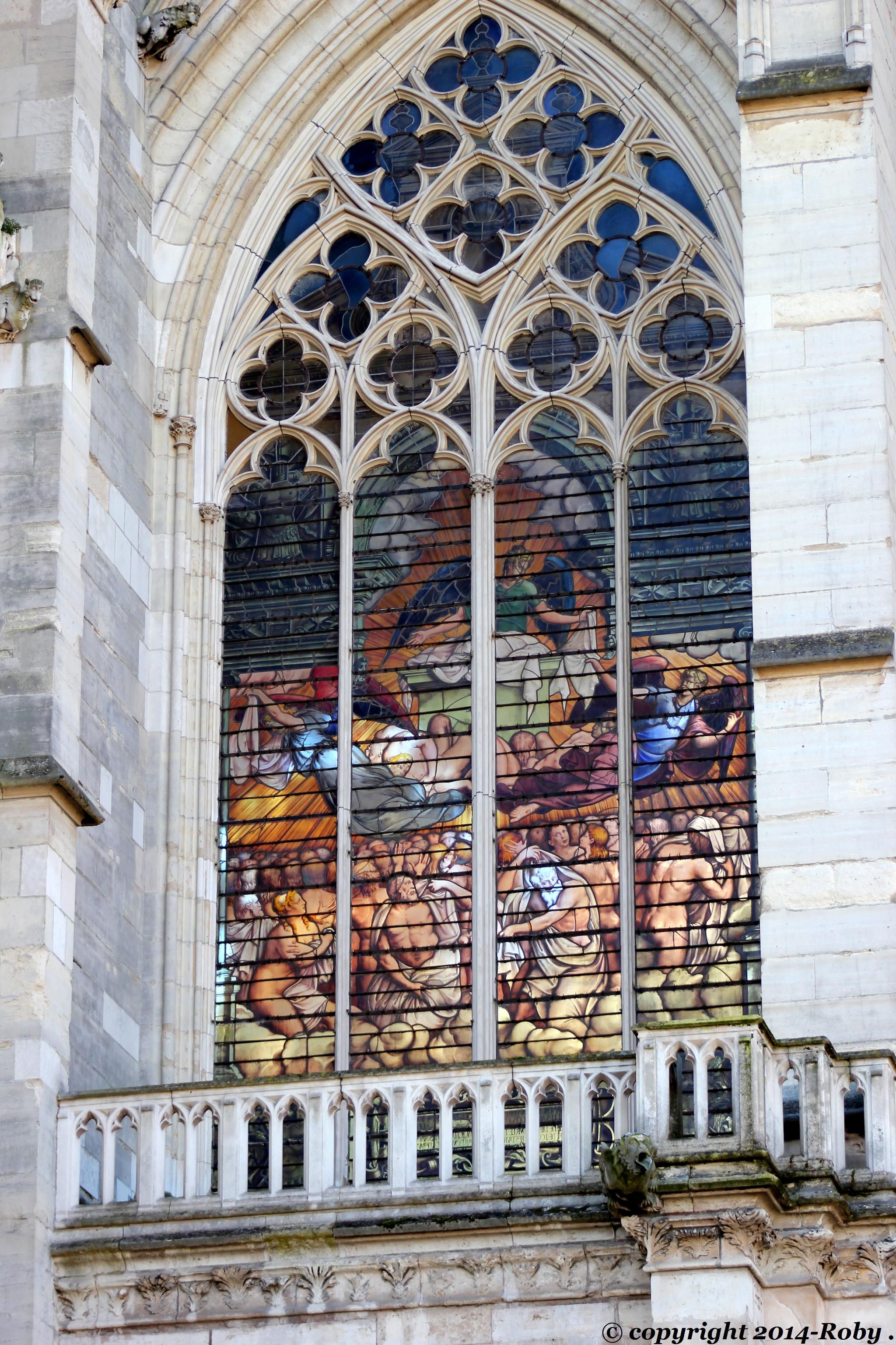 Sainte-Chapelle de Vincennes (1380) - Roby 2014