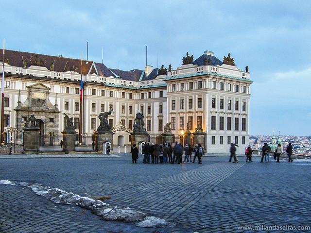 Recinto del Castillo de Praga